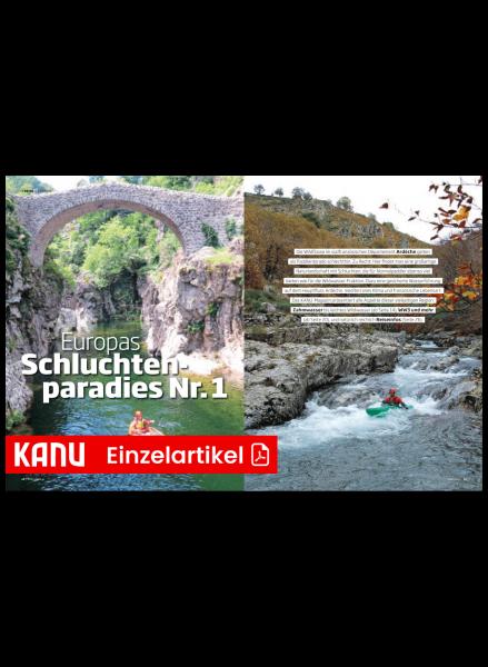 KM Reise Ardèche – Wandertouren und Wildwasser