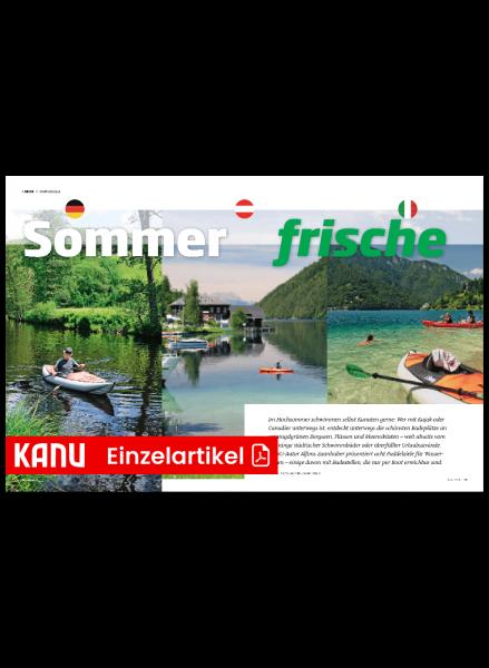 KM Reise Paddelziele für den Sommer